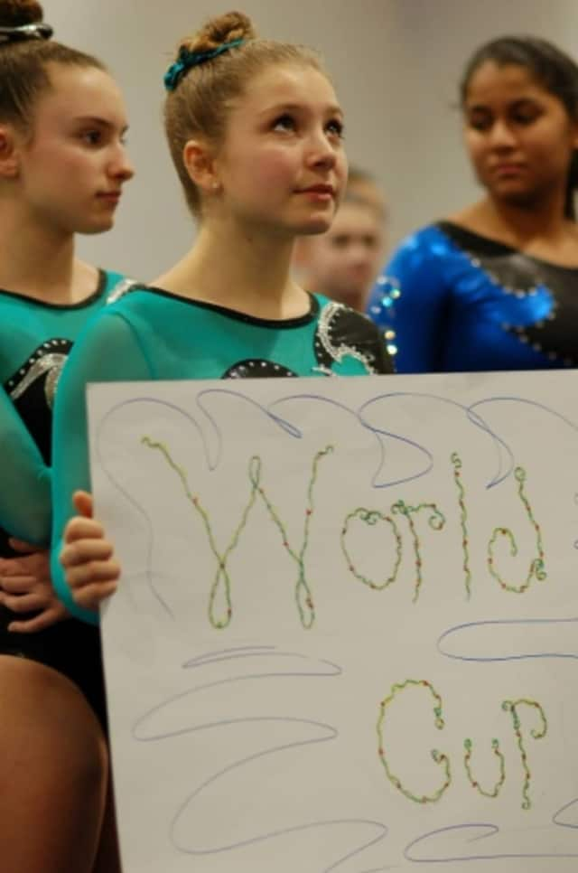 Gymnasts from across Westchester competed at the World Cup in Chappaqua.