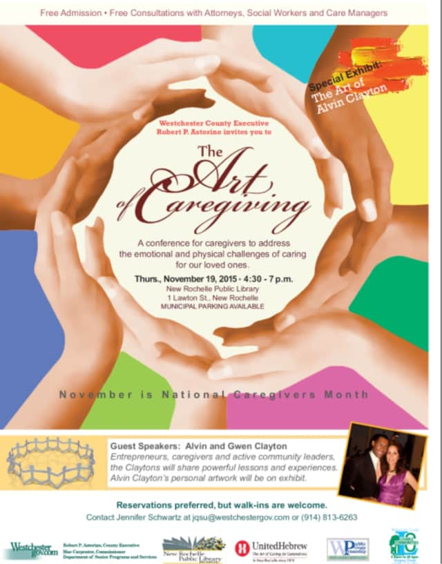 The conference will address the emotional and physical challenges caregivers face in caring for loved ones of all ages.