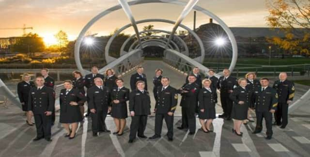 The Navy Sea Chanters will be performing a free concert at Ridgefield High School on April 21.