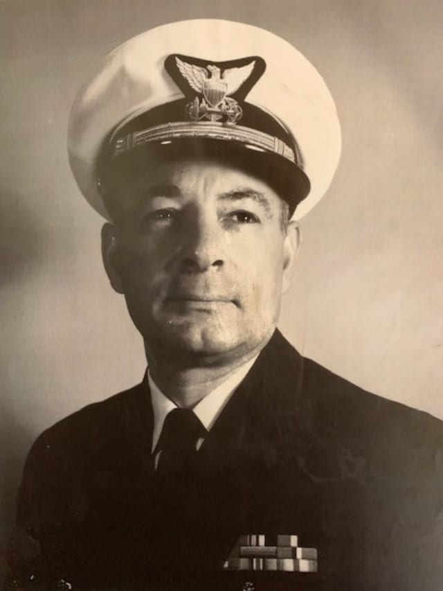 Capt. Joseph A, Macri, U.S. Coast Guard, Retired.