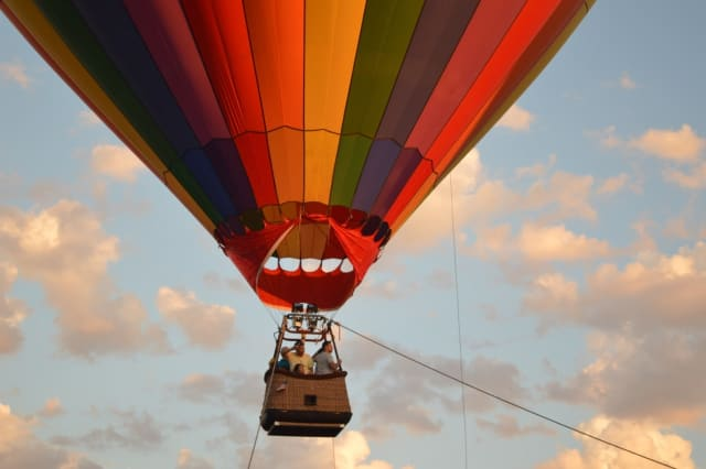 Hot air balloon rides are a highlight of the Summer Festival coming to Smith Haven Mall in Lake Grove.
