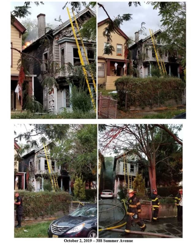 Fire at a Newark home claimed one life, officials said