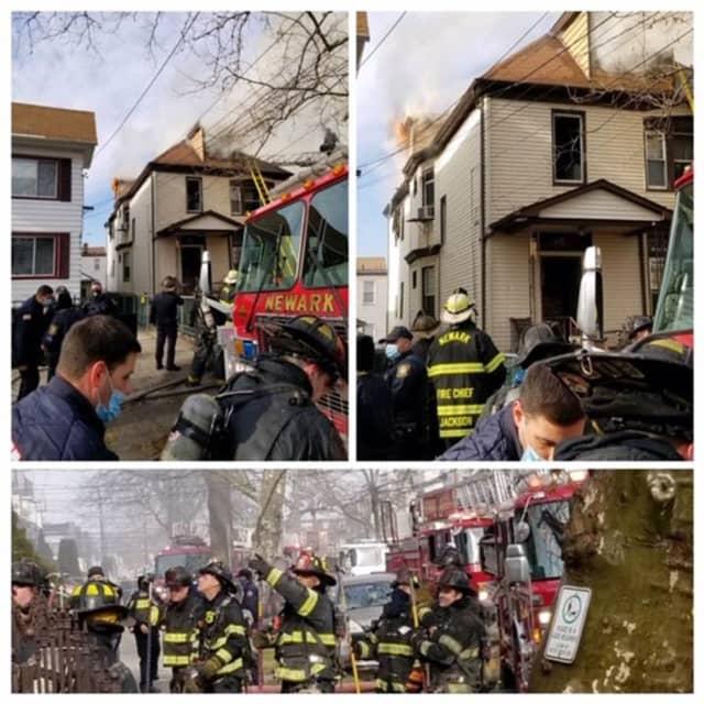 Rosevelle Avenue fire