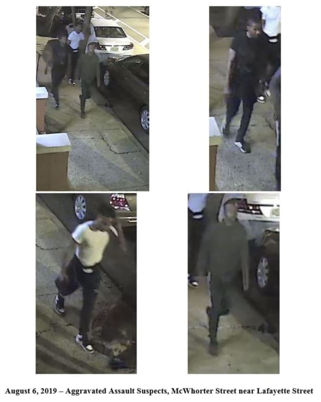 The three people pictured here are suspects in a violent robbery in Newark's Ironbound earlier this month.