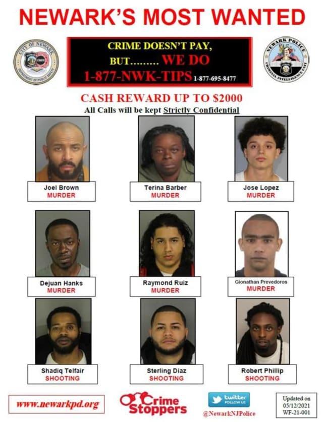 Newark fugitives
