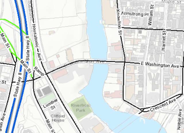 The City of Bridgeport will temporarily close a bridge over Bridgeport Harbor June 15.