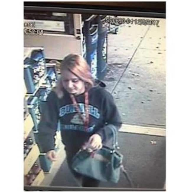 Police are looking for this woman in connection with three shoplifting incidents in Fairfield.