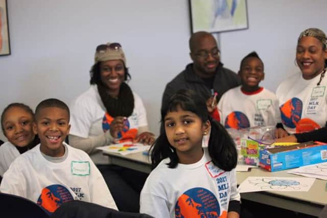 Volunteer New York!'s 2017 MLK Day of Service featured dozens of family-friendly volunteer opportunities to encourage youth to learn about service and the legacy of Dr. King.