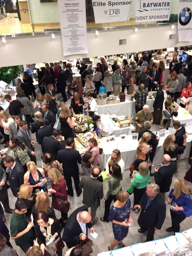 The Darien Chamber of Commerce will host its 12th annual Wine Tasting and Auction Benefit on Thursday, Oct. 20.