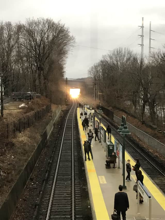 The fire at the Katonah Train Station started at around 8:05 a.m.