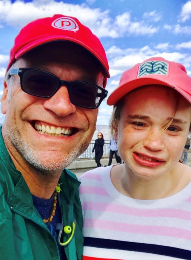 Jonathan Singer and daughter Rebecca.