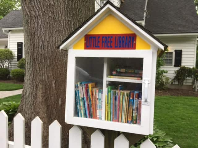 The Little Free Library.