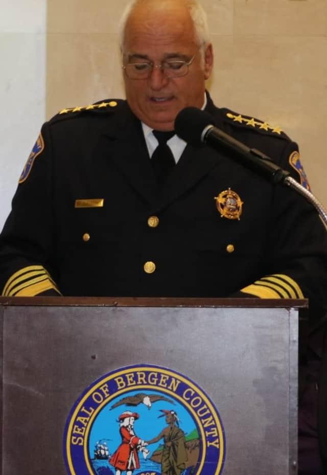 Bergen County Sheriff Michael Saudino