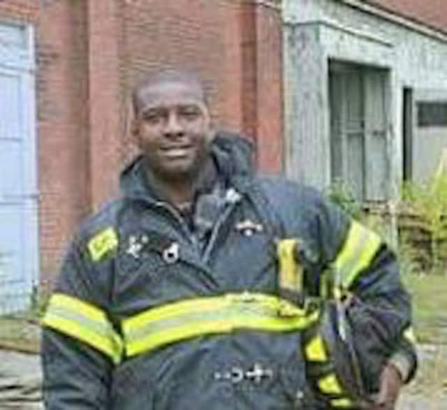 Firefighter Jimmie Jones