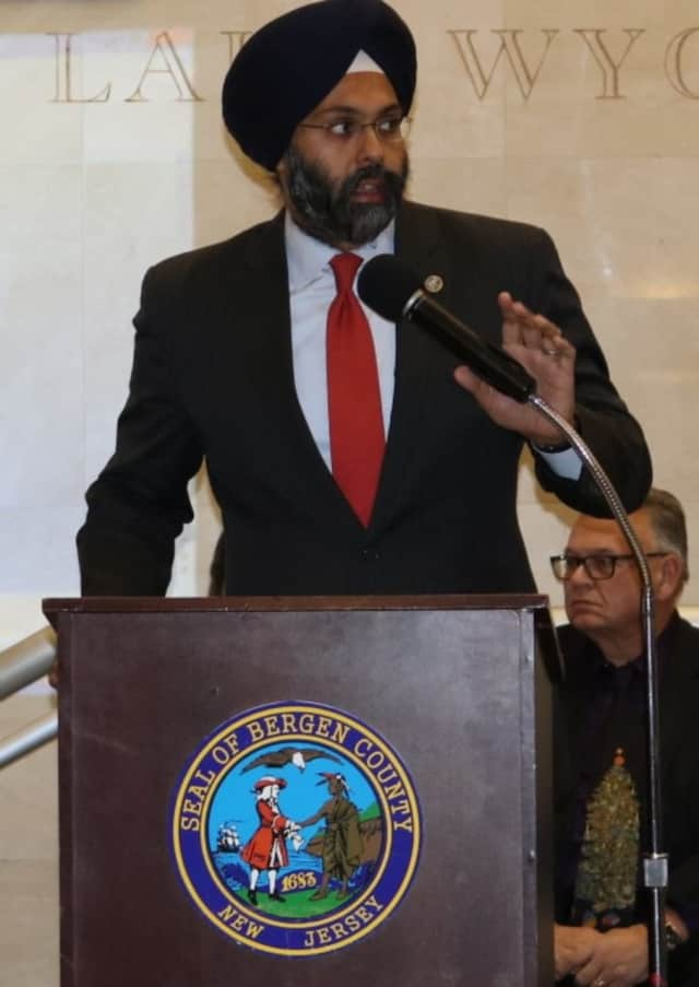 Bergen County Prosecutor Gurbir S. Grewal