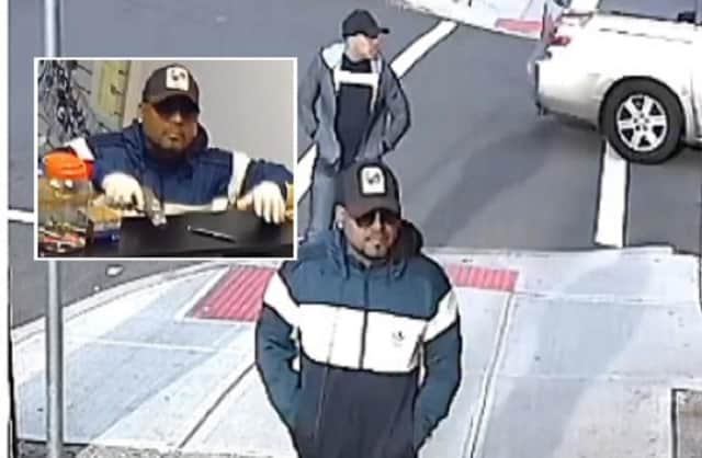 Anyone with information about either man in the photos is asked to contact Detective Sgt. Abe Hamdeh or Detective Al Bermudez of the Paterson Police Detective Bureau: (973) 321-1120.
