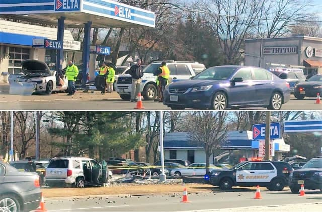 UPDATE: Drugged Driver In Route 23 Gas Station Crash Kills Dad