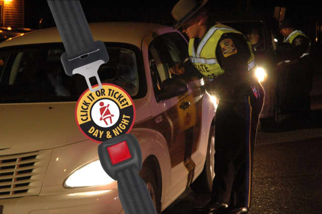 "Police agencies throughout the country are teaming for a ""border-to-border"" seatbelt enforcement campaign."