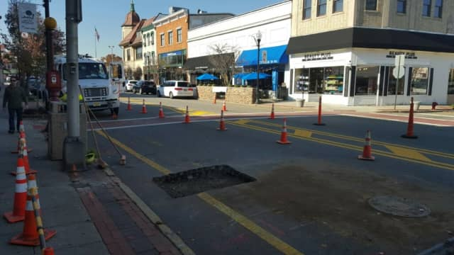 Underground line work is expected to come be completed on Wednesday.
