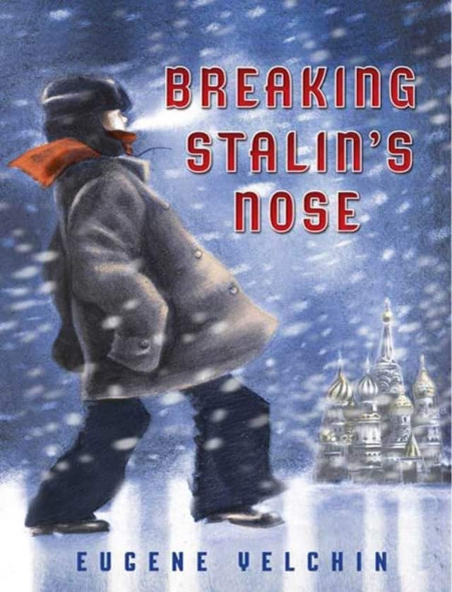 """Not Your Kids Book Club for Adults, the monthly session for adults interested in what young adults are reading, will discuss the award-winning novel """"Breaking Stalin's Nose"""" by Eugene Yelchin at the Scarsdale Public Library."""