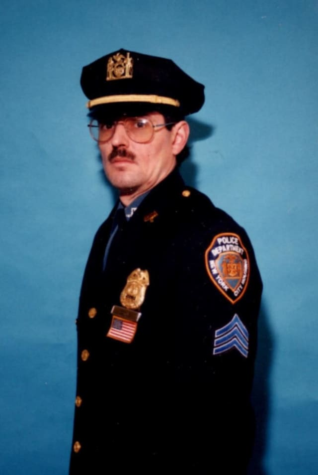 Patrick T. Coyne, retired officer with the New York Police Department.