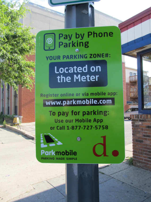 ParkMobile is offering New Rochelle residents an opportunity to pay for parking through their cell phones as part of a pilot program.