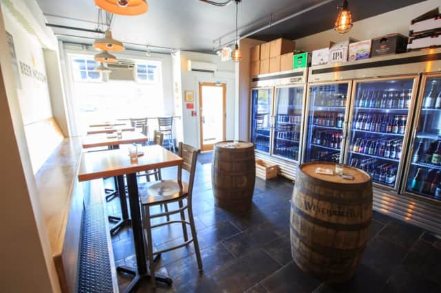 Beer Noggin is a local favorite for drinks in Bronxville.