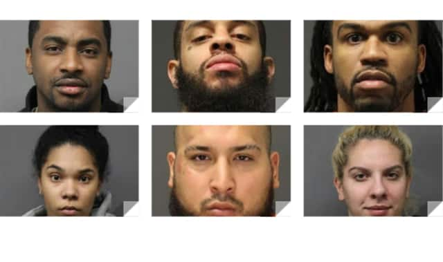 TOP ROW: Rashad Black, Terrance Hart, James Miller / SECOND ROW: Ivy Hernandez, Christian Reyes, Tori Beato