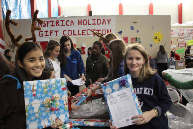 TFI Envision in Norwalk is once again is a drop-off location for the Inspirica Annual Holiday Gift Collection.