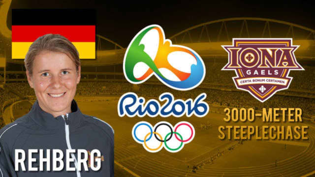 Iona College alumna Maya Rehberg competed in the 3,000-meter steeplechase at the Summer Olympics in Rio de Janeiro.