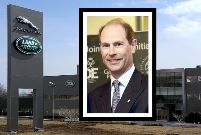 His Royal Highness the Earl of Wessex will be at the new state-of-the-art Jaguar Land Rover North American Headquarters