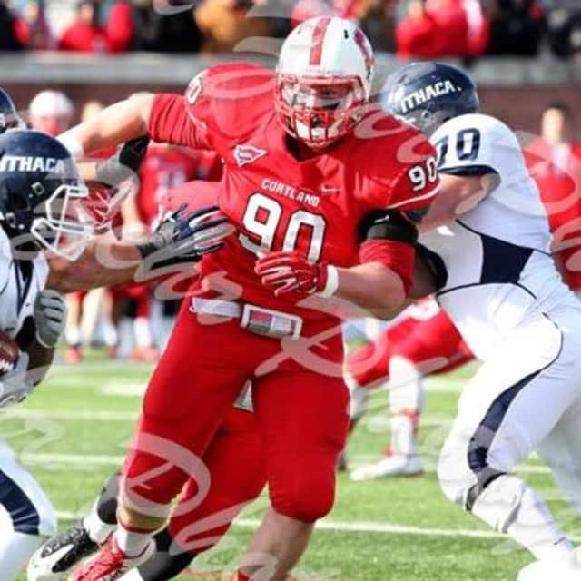 Jake Ceresna who grew up in New Fairfield has been signed to the New York Jets.