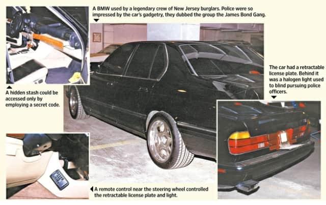 The original James Bond Gang: stirred and shaken