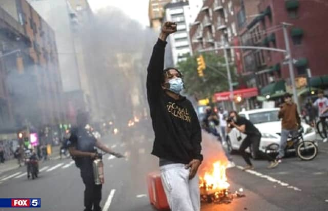 """""""The Manhattan and Brooklyn District Attorneys have declined to prosecute charges of disorderly conduct and unlawful assembly arising from the protests,"""" the DOJ said."""