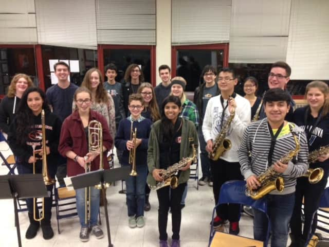 The White Plains High School Jazz Band