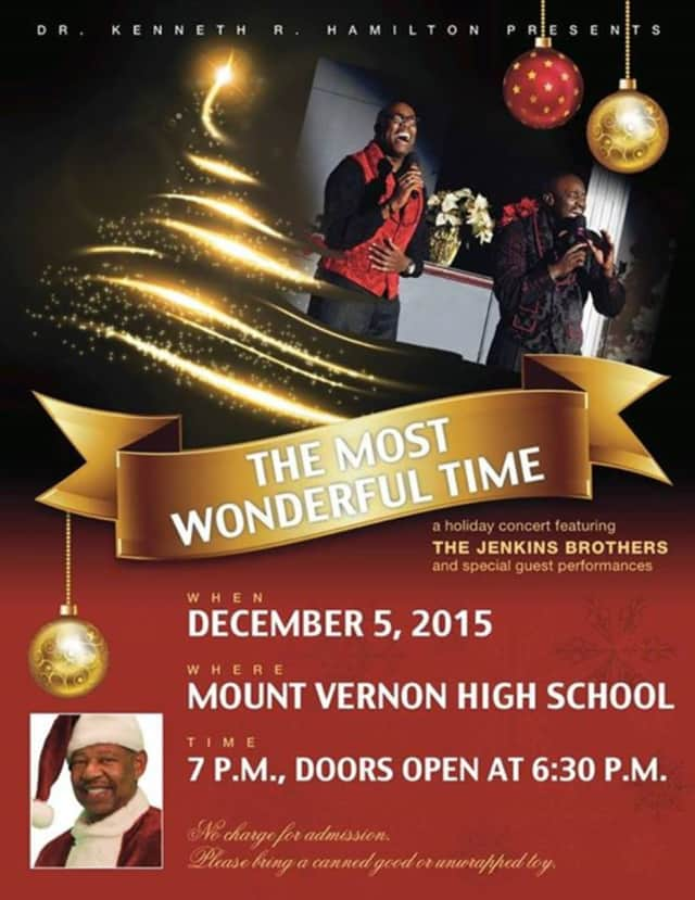 """""""The Most Wonderful Time"""" concert starts at 7 p.m."""