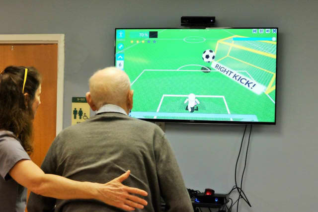 The Rockleigh Jewish Home is using video games to help patients.