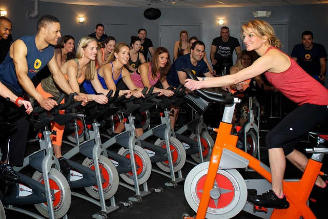JoyRide Cycling Studio is dedicated to offering indoor cycling, as well as off-the-bike, cross-training classes.