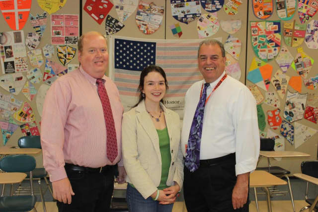 """Steve Ruland, Andrea Donigian and Mike Settanni have received the Anna Keeler Award for """"Excellence in History and Civics Education."""""""
