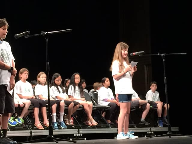 Main Street School fifth-graders celebrated the milestone of moving up to middle school during a special ceremony on June 22 before an audience of friends, family and administrators.