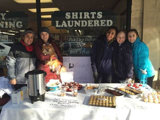 Other efforts like this bake sale will be organized by the Briarcliff High School students through the new charitable club.