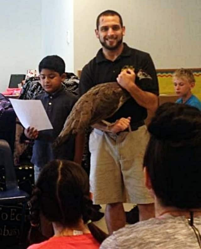 Kids at the Chapel School got to meet a variety of animals.