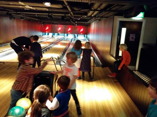 Bowling is one of the scheduled activities in Hawthorne's Summer Rec program.