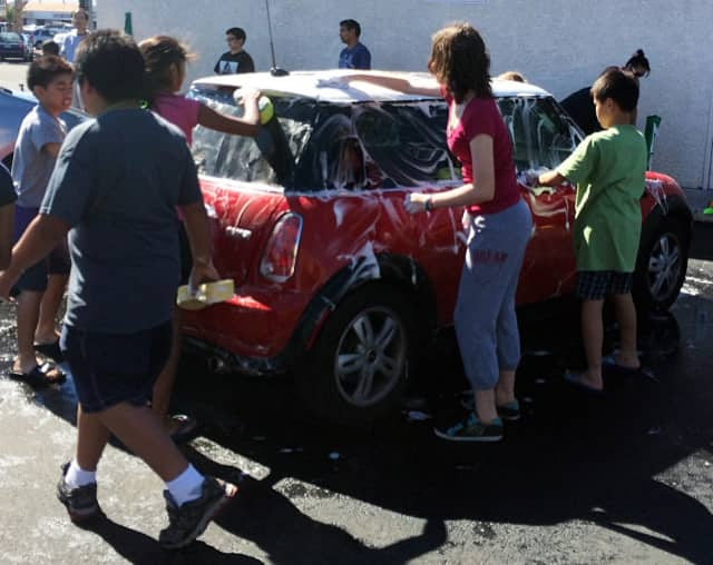 Eleanor Van Gelder School is hosting a car wash on Saturday.