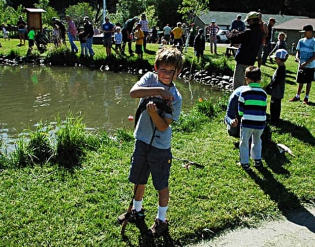 Kids can compete this Sunday in a rescheduled fishing competition.