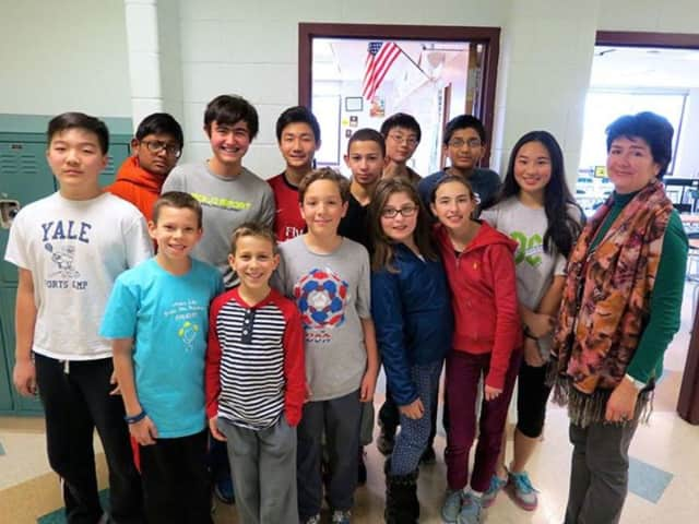 These Briarcliff Manor School District Mathletes received Merit Roll recognition for their participation in the American Mathematics Competition