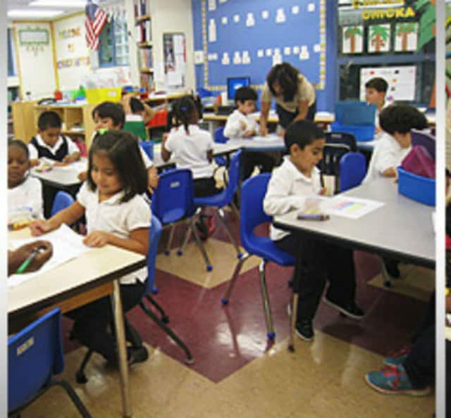 The Eastchester school district is conducting kindergarten registration through the end of March.