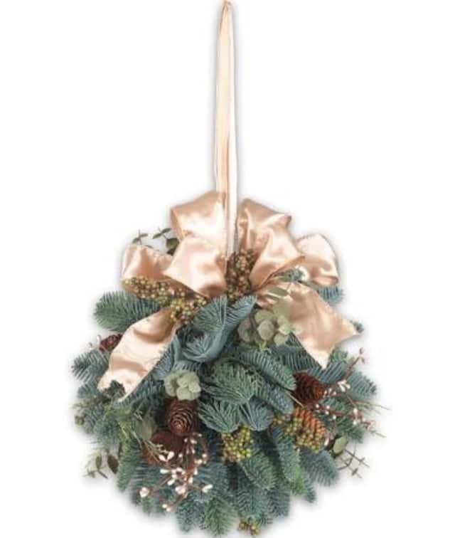 Kids can make holiday kissing balls at the Sherman Historical Society on Dec. 10.