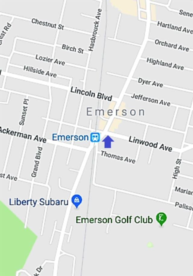Kinderkamack and Linwood intersection.