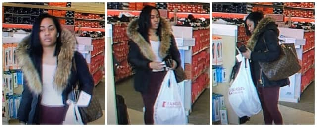 Police are asking for help identifying a woman wanted for allegedly stealing from an area store.
